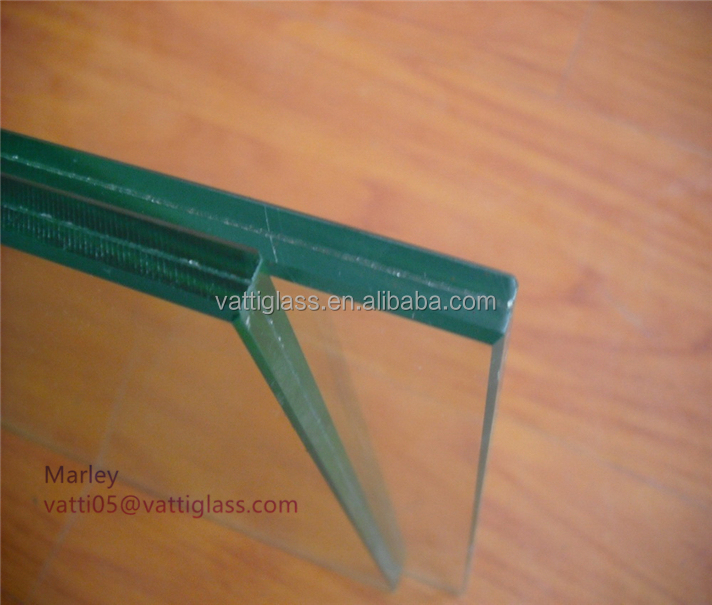 6.38mm 8.38mm 8.76mm Colored Clear Laminated Glass With ISO CE CCC