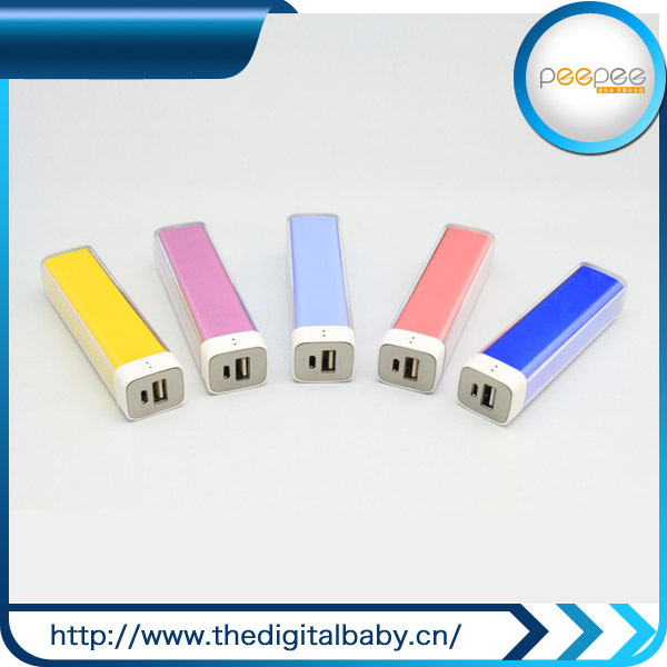 outdoor travel 2600mah power bank of original perfume