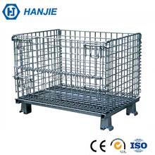 Chinese supplier metal welded stackable stainless steel security cage