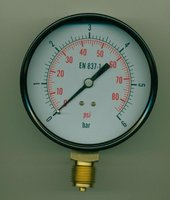 High Quality hight strength miniature bourdon tube pressure gauges