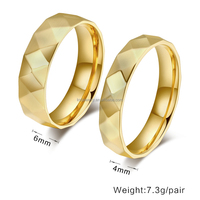 Latest Gold Ring Designs For Couple Gold Plated Ring Finger Ring