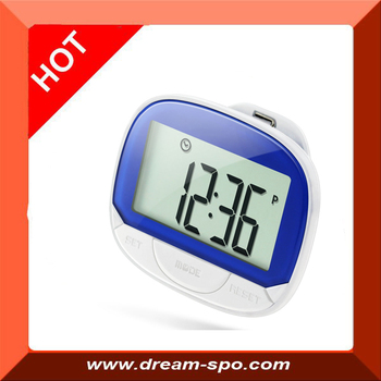 2016 New Large 2 Row LCD Display Digital Pedometer step counter