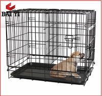Pet Cages, Carriers & Houses Type Iron Wire Dog Cage From China