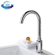 Newly Induction mixer tap auto sensor faucet deck mounted bathroom kitchen faucet XR8846