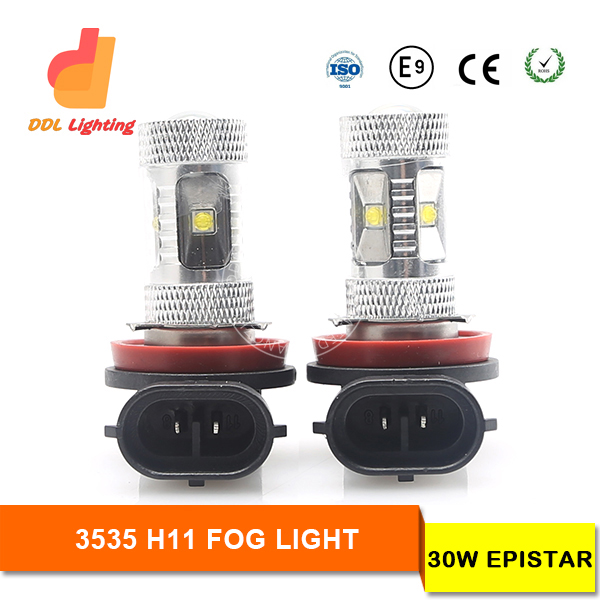 High quality automotive led light h3 led auto l9006 h7 high power h11 led cob fog lamp