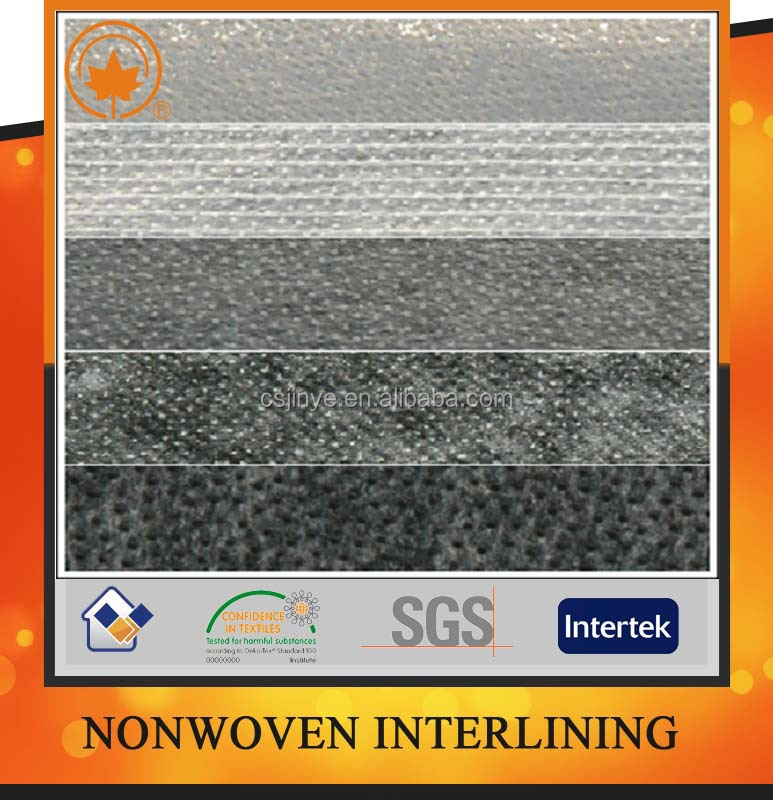 Non woven fabric for garment with Oeko tex 100