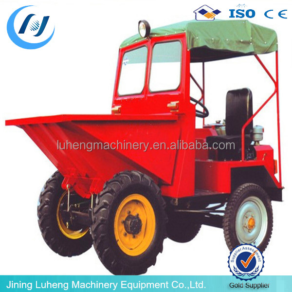 Four-wheel drive the front dumper /tip lorry used in construction