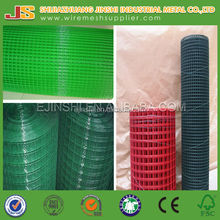 "1/4"" 1/2"" 3/4"" 1"" PVC coated welded wire mesh in rolls"