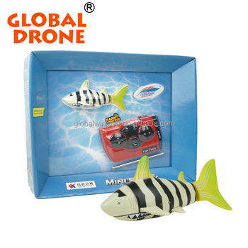 Underwater rc little shark,RC Shark Moving Fish Radio Control Toy