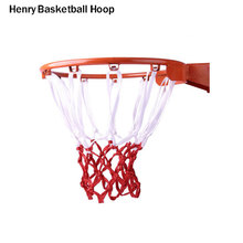 Thick steel red basketball ring competition red solid ring standard hoop