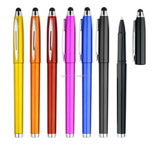 Cheap Creative match form design stylus touch pen With ink