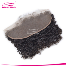 2016 beauty style 100% natural raw human hair lace frontal piece