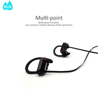 bluetooth headphones 2016 with voice prompt multi-point function, can cannect 2 mobile phones at the same time RU9 --- Sophia