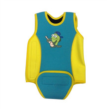 Thicker Baby Infant toddler Neoprene warm swimming jacket wetsuit vest