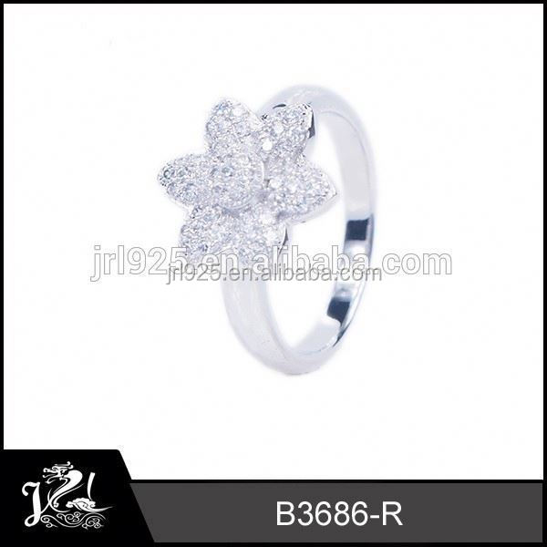 2015 trendy Zircon Paved  benzing ring