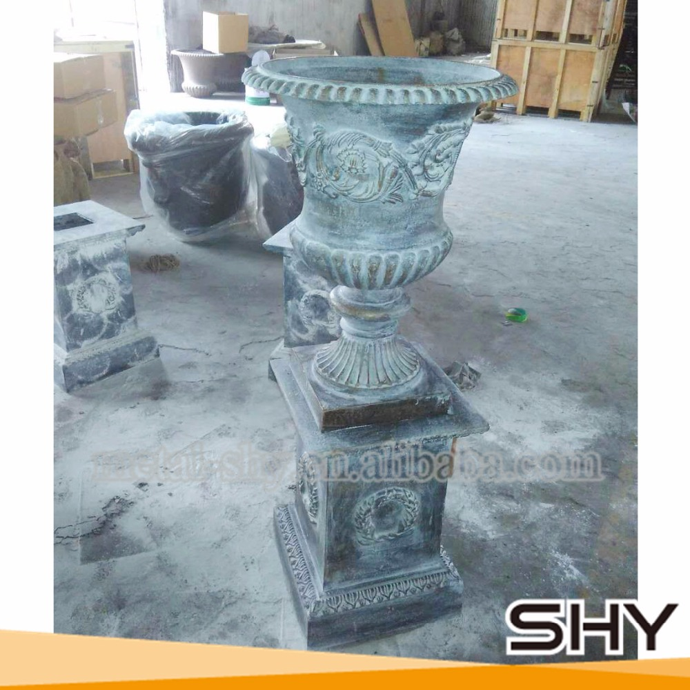 Antique Cast Iron Flower Pots,Cast Iron Urn Planters - Buy Cast Iron ...