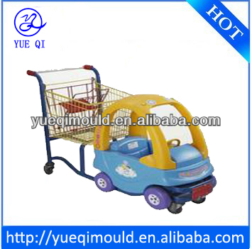 rotational moulding kids shopping trolley plastic parts