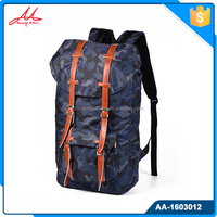Custom softback type army camo waterproof rucksack