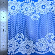swiss elastic embroidery floral cotton and nylon lace fabric