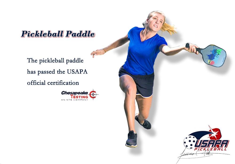 2018 New Custom Wholesale Pickleball Paddle