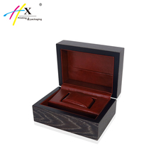 Famous Watch Red wood Brand box smart watch box cases