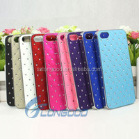 Hybrid Crystal Diomand Luxury Bling Phone Back Cover Case For Iphone 5