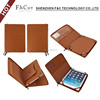 Leather Folio Stand Zipper Case For Ipad Air 2 , Case For Apple Ipad pro 9.7 inch zipper case
