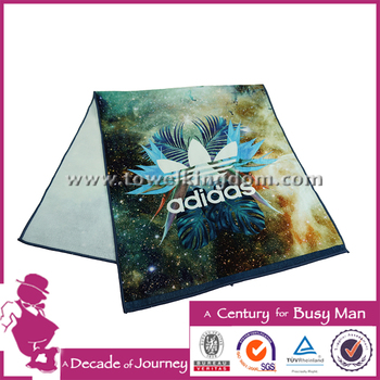 Hot Sale Cotton Fabric Custom Printed Face Towel