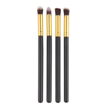 2017 amazon rose gold high quality eyeshadow Private label eye makeup brushes