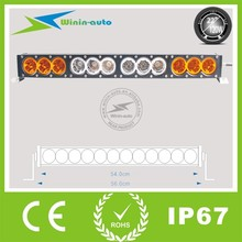 120w amber led light bar 12volt 120w cars amber led bars lighting for forest machines truck WI9019-120
