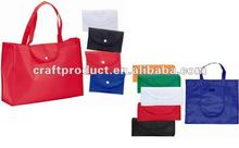 reusable eco foldable shopping bag