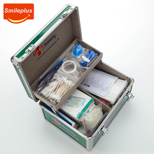 Professional portable aluminium medical first aid box