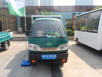 EEC/CE approved electric truck, closed cargo truck, pickup truck