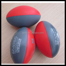 Foam mini rugby balls stress balls
