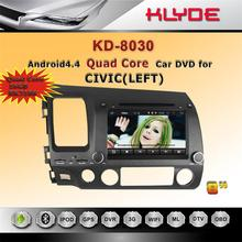 8 inch/4 core/HD/Bluetooth/WIFI/DAB+ 16GB car dvd for honda civic 2008