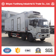 Dongfeng 6x2 Refrigeration Unit For Refrigerated Box Truck