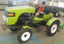China cheap 18hp mini tractor with power tiller