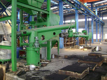 Spot supplying furan and phenolic resin sand mixing machine 15 tons/h resin sand mixer