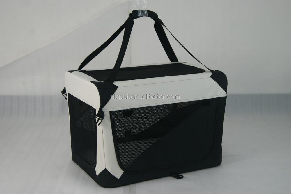 Solf-sided indoor/outdoor portable airline approved travel pet carrier