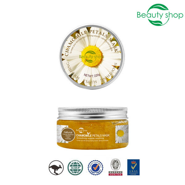 220g whitening moisturizing water adult sex 24k gold facial organic chamomile oxygen flowers gold sleep night beauty face mask