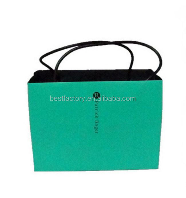 Big discount-paper shopping bag for clothes 1409