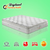 high class bed euro top spring soft spring mattress