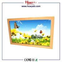 Good Price Transparent Touch Screen lcd 21 inch Wall Mount lcd Advertising Player lcd