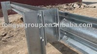 aashto m180 galvanized W beam guardrails