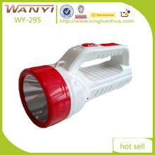 WY-295 900mah battery powered portable led rechargeable hand lamp