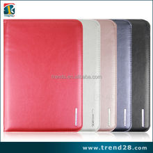 high quality Iron box leather tablet case for ipad air 5