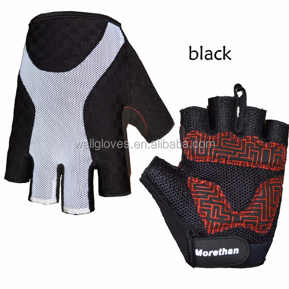 OEM Cycling Protection Bicycle Gloves Anti-slip Gel Padding Half Finger Bike Gloves