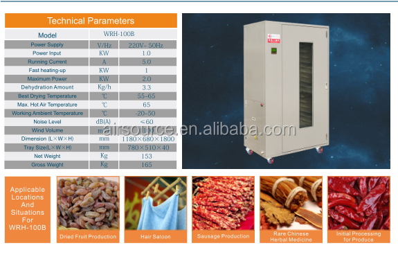 Food drying machine/dehydrator/drying oven for fruit and vegetable