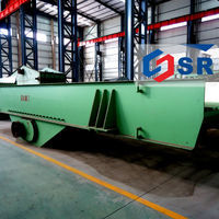 High productivity small electromagnetic vibrator feeder for coal ore