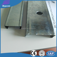 light steel keel /u channel /steel floor joists with factory price in high quality
